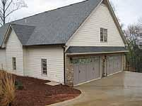 Since it was raining most of the day, it was nice to be able to get inside Ivan & Myrna Ruiz s newly-constructed garage at their Dawsonville home and have the opportunity to see this as well as get
