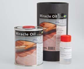 What a great way to show your customers you value them! Item # 2612 Arboritec Miracle Oil A 2-component urethane oil, suitable for heavy wear. This is a zero VOC Product.