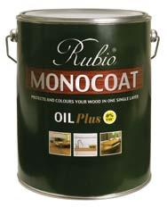 VOC 2 Item # 2196-5 Gal RUBIO MONOCOAT OIL PLUS Extremely durable one-coat finish for wood floors.