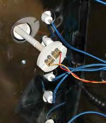 Connect wires to back of Electro Sitter just like the connections to the back of