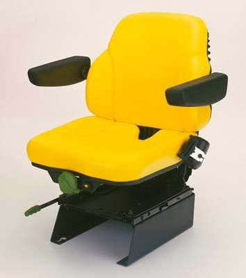 Issue 02-2006 ( RI, RII) ATTACHMENTS - FACTORY AND FIELD INSTALLED 6020 Series Tractors-35 Comfort seat AL55363 Seat belt Models: only: 6020-6920S, 6020SE - 6520SE Note: