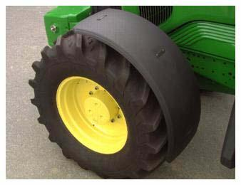 6020 Series Tractors-54 ATTACHMENTS - FACTORY AND FIELD INSTALLED Issue 02-2006 ( RI, RII) Front fenders 5.