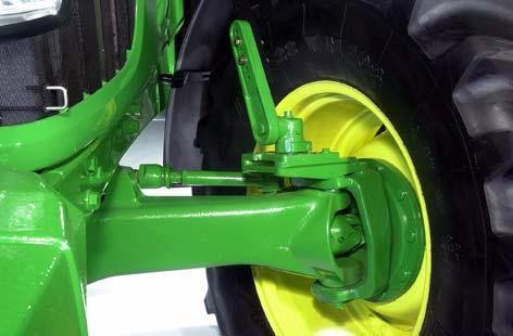 6020 Series Tractors-56 ATTACHMENTS - FACTORY AND FIELD INSTALLED Issue 02-2006 ( RI, RII) 884 AL58553 MFWD front fender, 520 mm width AL64705 Turnable front fender, 355 mm width Models: 6920, 6920S