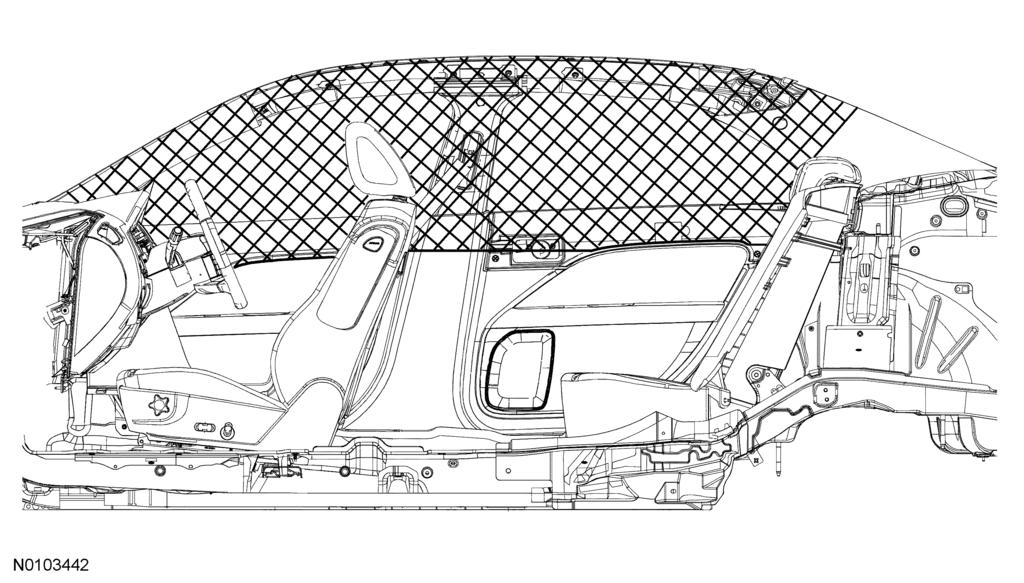 Reference 4-5 Section 4: Reference 1. 27.2 in. (690 mm)from center of air bag door 2. 19.7 in.