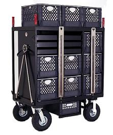with brakes Locking bar Optional Foam Filled Tires $ 80.00 4 Crate Vertical Set Box Style No. SB-04V 147 lbs. L36 x W20 H48 1/2 Sale Price $ 1,275.