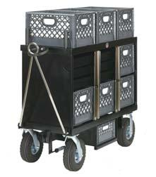Locking bars (2) Optional Gel Runner (Single or double) 7 Crate Set Box Style No. SB-07 242 lbs. L48 x W26 x H57 Sale Price $ 1,695.