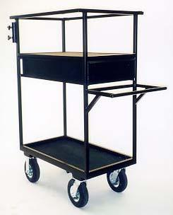 Equipment handling carts for the Film and Television industry 2015 Craft-Service and Prop-Chair Carts Craft-Service Cart Style No.