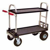 "Kit (Standard) Horizontal 60 1/4"" x 25 1/2"" x 41 3/8"" Horizontal 47 1/2"" x 25 1/2"" x 41 3/8"" 90 liner Cart Modified w/ 30"" HD Nose, 18"" Top Upright 18 1/2"" x 21"" x 64"" Upright 18 1/2"" x 21"" x 51 3/4"""