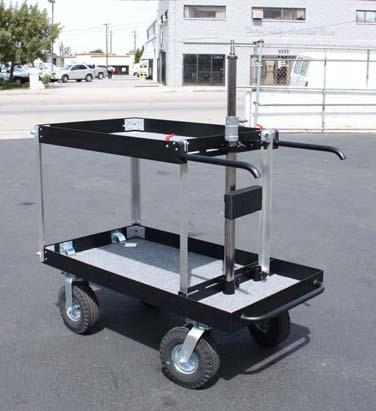 Equipment handling carts for the Film and Television industry 2015 Steadi-Cam Case Cart Steadi-Cam Case Cart Style No.