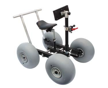 G-25 Includes: Wheels: (2) 16 Pneumatic (2) Dual 8 Pneumatic Swivel Casters