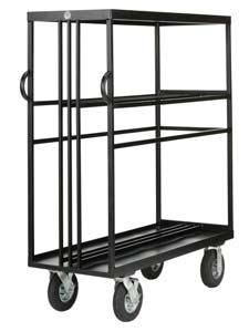 "Equipment handling carts for the Film and Television industry 2015 Grip & Electric Mini Carts 4 x 4 Mini Cart Style No. G-01 MINI 139 lbs. L55"" x W21 1/4"" x H63 1/4"" 63 kgs."