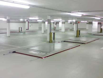 P LONGITUDINAL PLATFORMS For additional parking spaces in driving lanes.