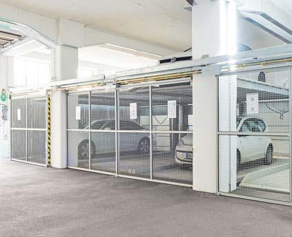 P UNIPARKER The SemiAutomatic parking system with pit. UNIPARKER N5202 Without columns in front Modular construction expandable at will Easy access and higher comfort.