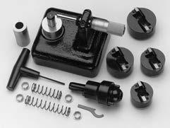 SGM/VGS Tooling & Accessories VGS-300 Valve Seat Pocket Cutter Kit 1.500 to 2.250 in. (38,5-57,1 mm) The VGS-300 is used to machine cylinder heads for the installation of new valve seat rings.