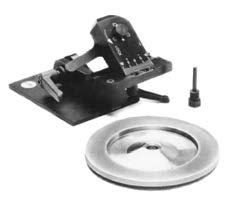 SGM/VGS Tooling & Accessories VSC-100 Tool Sharpener Fixture Kit The VSC-100, when used in conjunction with Sunnen s TS-100 Precision Tool Sharpener, sharpens cutters in the body eliminating the need