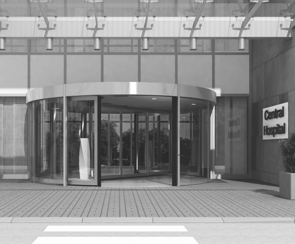 dormakaba KTC 2 Revolving door Safety and comfort combined in a sophisticated entrance system The entrance area is the showcase of a building.