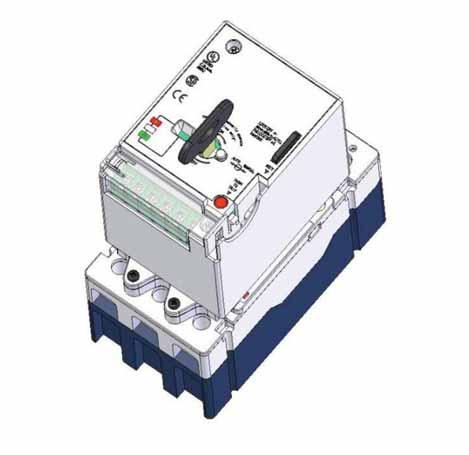 Molded Case Circuit Breakers Series G. Features, Benefits and Functions The motor operator provides special features for ease of customer use and status indication.