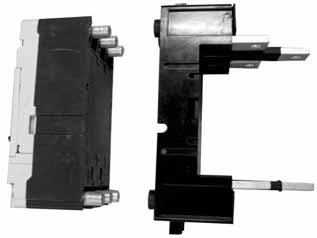 . Molded Case Circuit Breakers Series G LG Breaker with Plug-In Block Plug-In Blocks Product Description Plug-in adapters simplify installation and front removal of circuit breakers.