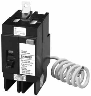 Molded Case Circuit Breakers Series C.3 Single-Phase (requires two poles) Contents Description Product Overview.......................... Standards and Certifications.................. Quick Reference.