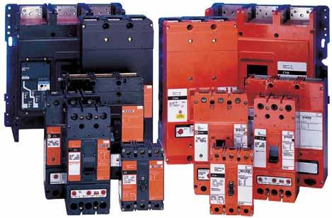 .6 Molded Case Circuit Breakers Specialty Breakers E Mining Service Breakers Contents Description Engine Generator Circuit Breakers............. Direct Current Circuit Breakers.