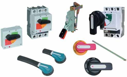 Molded Case Circuit Breakers Handle Mechanisms.7 Handle Mechanisms Contents Description Handle Mechanisms Series G High-Performance Rotary Handle Mechanisms.. Universal Rotary.