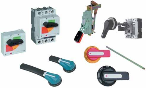 Molded Case Circuit Breakers Handle Mechanisms.