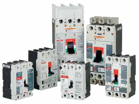 Molded Case Circuit Breakers Series G.