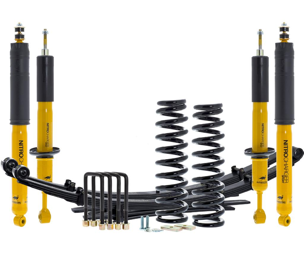 PRODUCT RELEASE Date: May 06 Description: Old Man Emu Suspension System Application: 06+ Toyota Tacoma Part No.