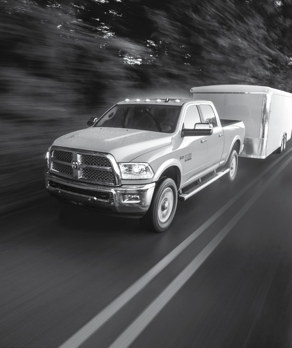 AN OPEN-AND-SHUT CASE FOR SAFETY & SECURITY. } Air Bag9 Technology Ram surrounds you with protection, including multistage front, supplemental front-seat side-mounted, and side-curtain air bags.