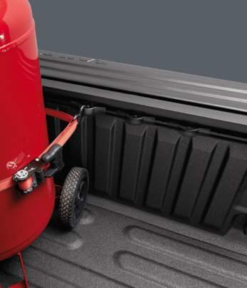 of the bed without having to adjust a tonneau cover (if so equipped) now with a convenient