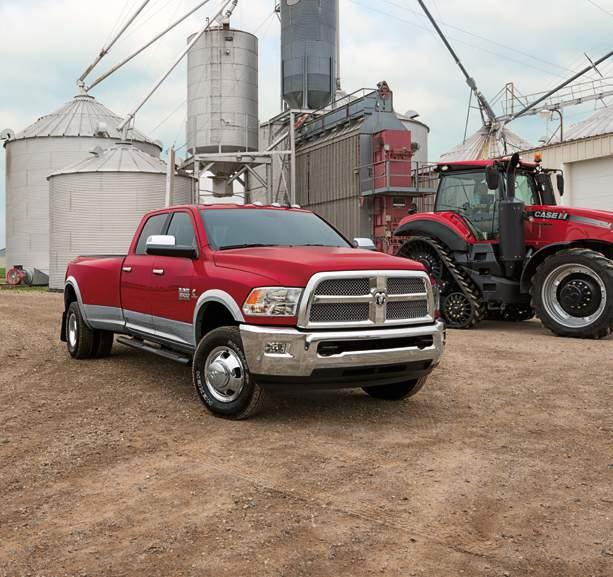 HEAVY-DUTY FIELD BOSS. HARVEST } ENRICHING THE ORIGINAL GROWTH INDUSTRY AGRICULTURE. Meet the new Ram 2500/3500 Harvest Edition an upscale pickup with the heavy-duty brawn for the heartland.