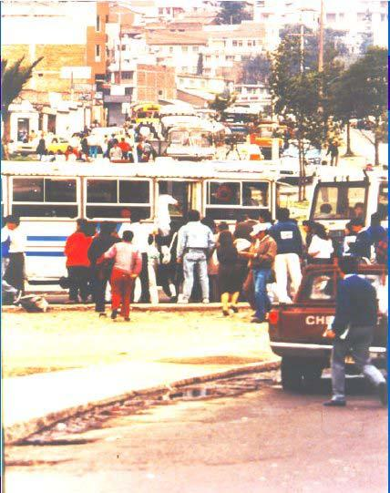 1. Quito Before the Introduction of the Busway System (Photos 1-3)