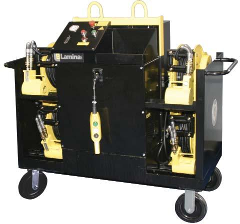 10 Introducing a new Die Separator with optional lifting power... An effective solution to your die separating problems.