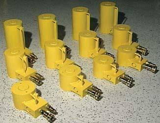 Hydraulic Cylinders These versatile cylinders come in three stock sizes, 4 inch, 6 inch and 9 inch (closed).