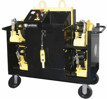 Introducing a new Die Separator with optional lifting power... An effective solution to your die separating problems. Shipping Wt.