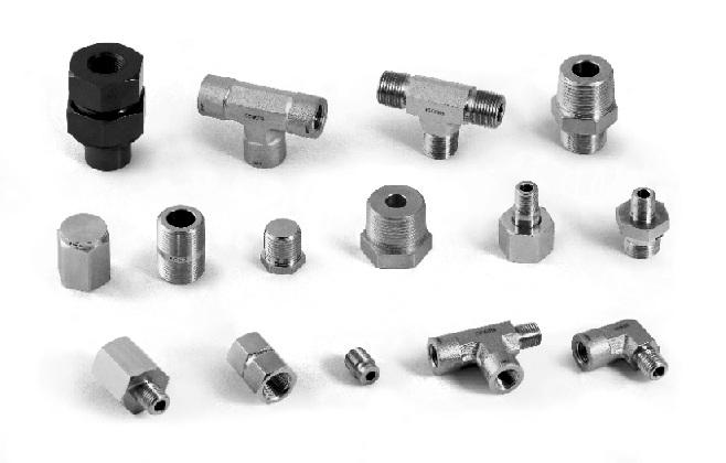 "7 Fittings / PFA PFA Tube Fittings Sizes range frm 1/8"" t 1/2"" and 3 mm t 12 mm. Fittings prvide reliable perfrmance in crrsive envirnments and chemical applicatins."