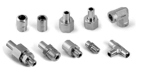 8 9 Fittings / Pipe Cnfiguratin Fitting Type Unin Ball Jints Adapter Example SS-UBJ-NS4 SS-PA-NS-NS4 Weld Fittings Fittings / Weld Male Elbw SS-PME-NS Street Elbw SS-PSE-NS-NS4 45 Street Elbw
