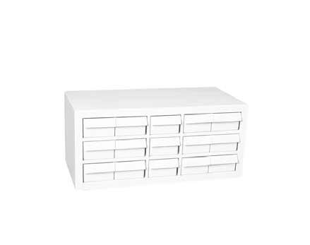 Stock abinet Weatherhead Part # -15X Aeroquip Part # FT1601 ontains 15 extra large white drawers for those large, difficult to store items.