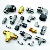 ube Fittings P High Performance Fittings Section Overview ube Fittings he selection of the optimal tube fitting for an application depends on the system operating parameters, tube construction and