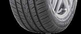 speed driving conditions Enhanced lateral traction Rim protector Protects