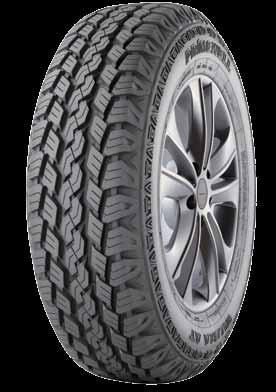 ALL-TERRAIN All Terrain tire for SUV and light truck with all round capability on and off