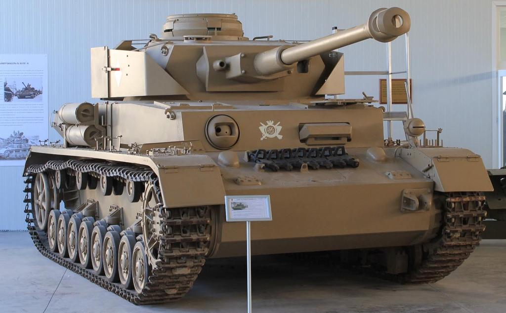 H El Goloso Museum, Madrid (Spain) running c. Turret number 85 596, chassis number 84 632.