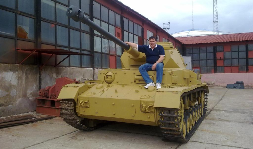 H (n 67) Museum of Battle Glory, Yambol (Bulgaria) This tank was previously used as part of a defensive line on the