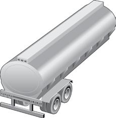Horizontal surface of the rear bumper bar, on its entire width, facing the rear No requirement White and red 3. At the rear, across the trailer s entire width, facing the rear 4.