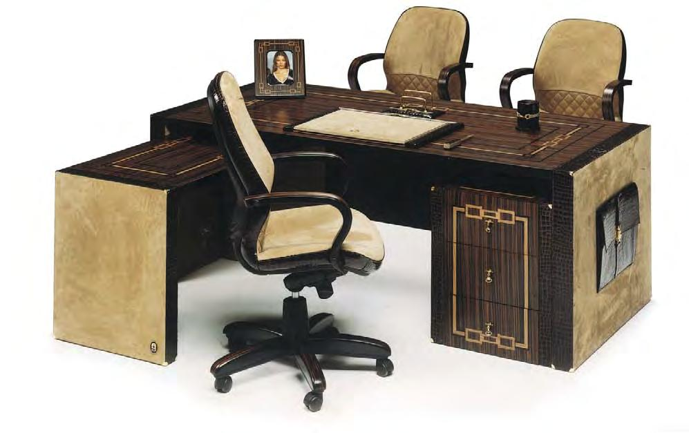 Bel Air Desk Kit Bel Air Side Desk Bel Air Presidential chair, Wenge finish veneer, cocco TDM, tapiro  Bel Air Desk,
