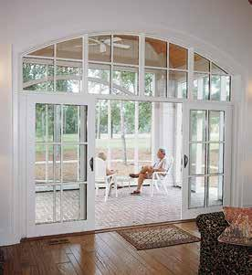 Then compliment your home with an elegant wide stile slide door from Lincoln.