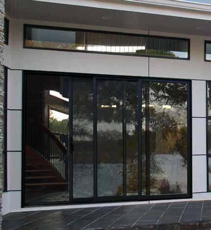 SLIDE-A-WAY PATIO DOORS Lincoln s Slide-A-Way patio door is an extremely versatile system designed where immense areas of glass are desirable.