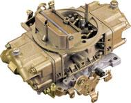 These carburetors feature vacuum secondaries and power valve blow-out protection. All are bright chromate finish. H3310 H1850 600 cfm manual choke... 309.99 ea H80457 600 cfm electric choke... 321.