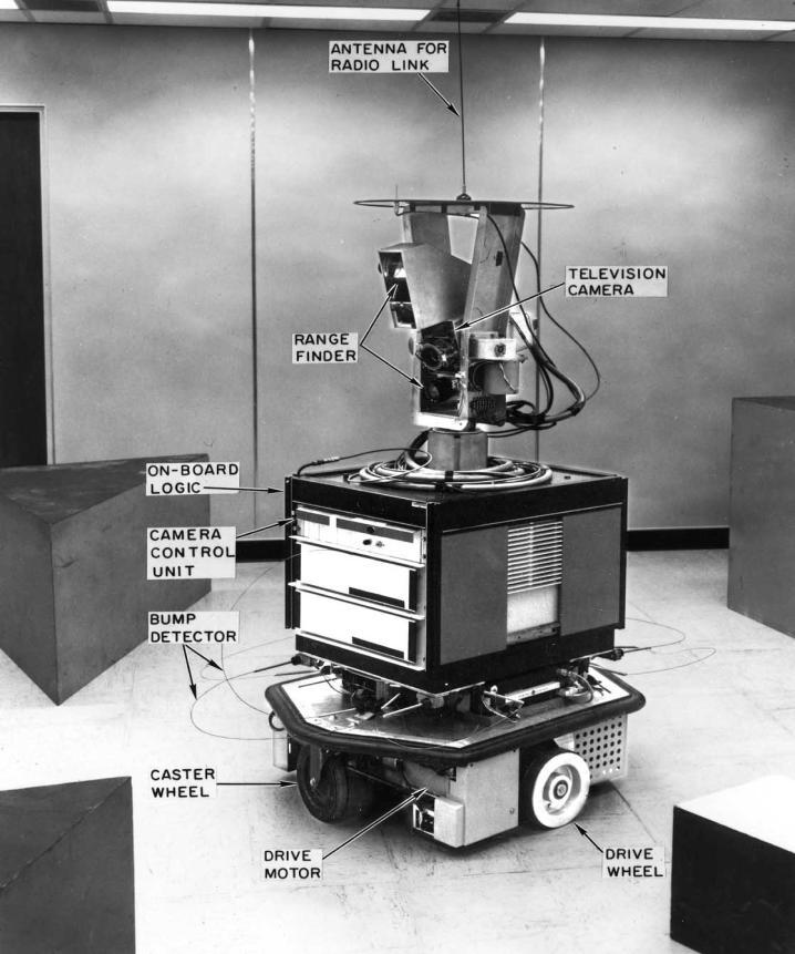 K. C. Zikidis et al. 225 Figure 1. Shakey the robot. Probably the first mobile robot.