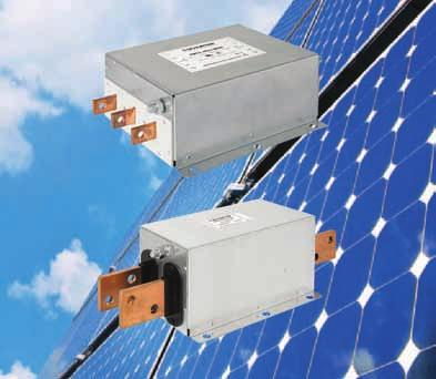 The complementing FMER SOL DC filter ensures (DC) EMC compliance, increasing reliability of the entire PV system.